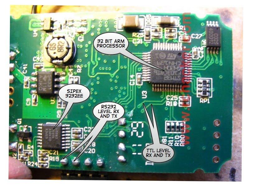 Frsky DHT Module inside.