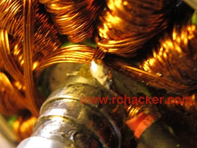 DT750 winding repair