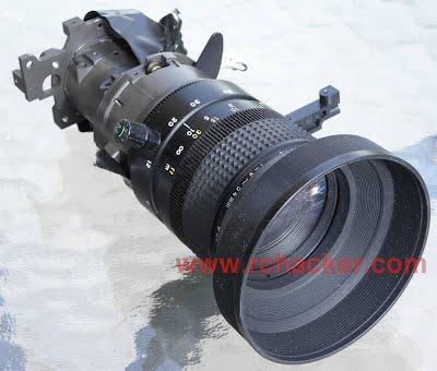 Hobbyking HD Wing Camera II sony lens