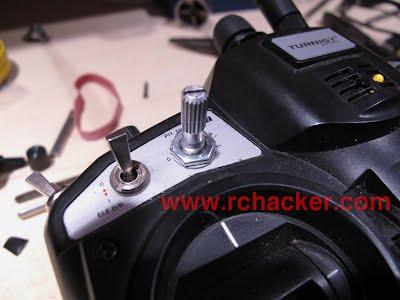 turnigy 9x 9xr 6 position switch knob