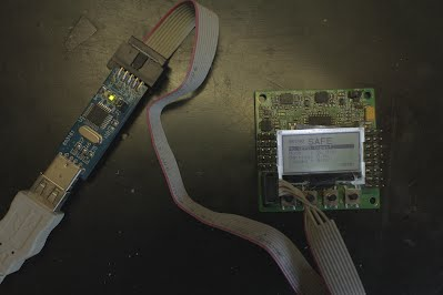 Programming the KK2 with  USBASP programmer.